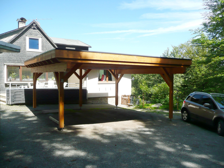 Zimmerei wiese und heckmann gmbh for Holzkonstruktion carport